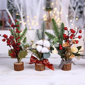 Cross Border Christmas Decoration Pine Floral Bao Hexiao Suspends Children Gift Mall Restaurant Showcase Counter Decorative Tree