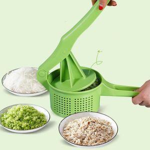 Mão de desidratação vegetal mão pressionante removedor de água masher ricer espremendo ferramentas de enchimento de torta de massa ferramentas de cozinha acessórios de cozinha ferramentas GWD4018
