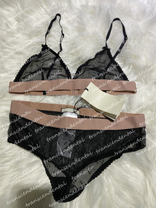 Lettre Diamond Lingerie Bikini Ensemble Noir Tulle Maillot de bain Femmes Cristaux Maillots de bain Sexy Biquini 2021 Mujer Bathing Costume