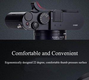 Yeni Thumb istirahat Başparmak Tutma Flaş Kızağı Kapağı Thumbrest için Leica S2 Q Typ 116 Siyah Kırmızı