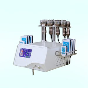 Focused Ultrasound Cavitation Machine 6 in 1 Cavitation Fat Burning Lipo Laser 40k Machine 40k 80k Ultrasonic Slimming Cavitation Machine