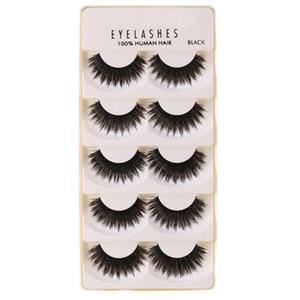 Eyelashes 3D Mink Lashes Luxury Hand Made Mink Eyelashes Medium Volume Cruelty Free False Upper Lashes
