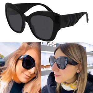 2021ss New Femme Cat Eye Sunglasses Femme Designer Lunettes de soleil Femmes Lunettes de soleil Mode Fishbone Miroir Jambe Design Lunettes 0808 avec boîte