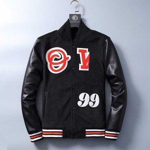 Schreiben Mann Pfeil Regulations Jacke Custom Baseball Varsity Jacke Leder Sleeves Letterman Jacke Top-Qualität Customized Letterman Jacken