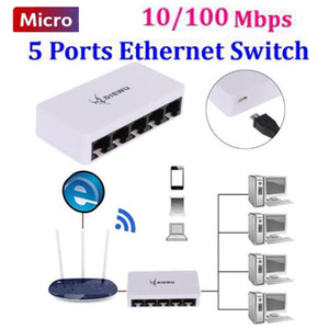 5port switch Micro fast Ethernet network switch 100Mbps lan hub hub Ethernet 5 port Full or Half duplex Exchange