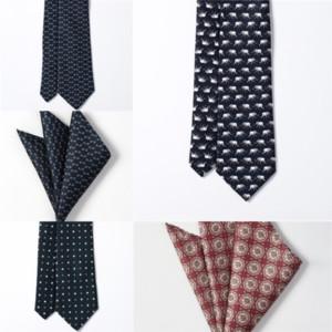 V9CY Knot Strip Business Affairs M M Dot Lead Neck Tie Tie Tiesready Collo Poliestere Uomo Poliestere Business Business Wedding Groom