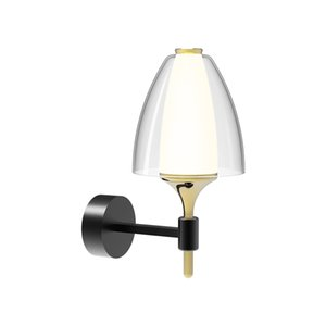 Modern led Minimalist Wall Lamps Personality Creative Single Head Wall Light LED Bedside Lamp TV Cabinet Light Luxury Lamps Net Red Lighting