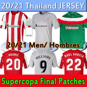 Bilbao Soccer Jersey Athleceet 2020 2021 I.martinez Williams Muniain Dani Raul Garcia Capa 2011 12 Ретро трикотажные изделия мужчин + детские наборы футбола