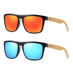 Minus -1 Made Spiegel Benutzerdefinierte Bambus Polarisierte Sonnenbrille Polarisierte Farbton Myopia Classic Rezept zum Objektiv im Freien bunt -6 kxijl