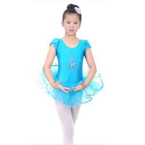 Summer Short Sleeved Girls Ballet Dress For Children Ballerina Tutu Kids Costumes Dance Leotard Dancewear