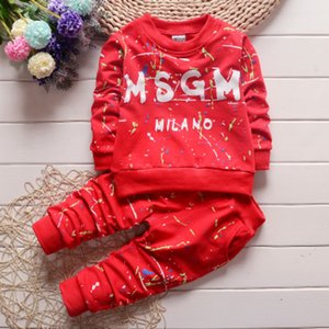 boys 2019 kids girls outfits Baby Clothing Sets Tshirt+ Pants Casual Suits Sportwear clothes tracksuit kids Clothing Sets