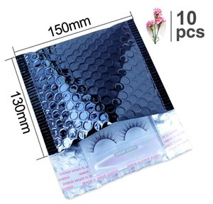 Speedy Mailers Bright Black Aluminum Foil Mailers Envelope Waterproof Packing Shipping Envelope Padded Bags Bubble Mailer wmtsFE petsyard
