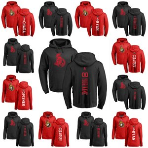 Ottawa Сенаторы пуловер Hoodie 72 Томас Шабо 9 Бобби Райан 41 Крэйг Андерсон 74 Марк Borowiecki Anders Nilsson Хоккей Толстовки на заказ