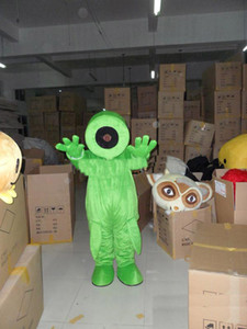 2019 High quality hot pea Plants vs. Zombies Cartoon Character mascot Costume Custom Products custom-made free shipping