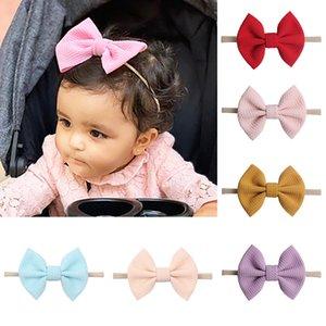 Bello del bambino archi fasce di Bowknot dei capelli avvolge nodo della farfalla Hairbands Hoops per neonati più piccoli Ragazze Copricapo M2927
