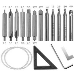 العمودي مفتاح التنقيب مجموعة أدوات الأقفال مجموعة العمودي مفتاح آلة سكين الفراولة آلة قطع 368A