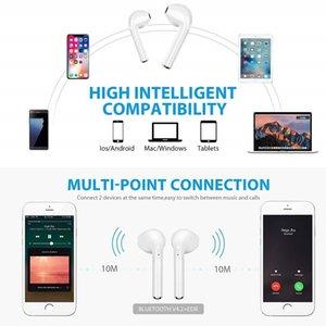 i7s TWS Wireless Bluetooth Earphone for Apple iPhone 6S 6 Plus 7 8 X SE 5S 5 7plus 8plus Music Earbud Charging Box