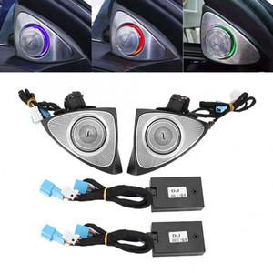 3D Edelstahl rotierender Hochtöner-Treble-Koaxial-Sound-Lautsprecher-Auto-Audioton-Hörner für Benz C E S-Klasse W205 W213 W222 16-19 Neues Ankommen