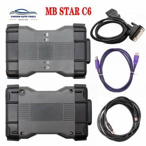MB Estrela C6 MB Diagnóstico VCI SD Connect C6 OEM Doem DIP XEN-TENTAR Diagnóstico VCI com V2020.03 Software HDD Melhor que C4 e C51