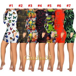 Donne Designer Designer 2021 Nuova lettere sottili Pattern Stampato Homewear Pigiama Pantaloni Un pezzo Pantaloni Nightclothes Ladies Moda Pagliaccetti