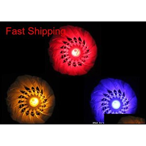 LED Badminton Shuttlecock Free Shipping Brand New Dark Night Glow Birdies Lighting Interior Deportes Flash Colo Qylhai Bdehair