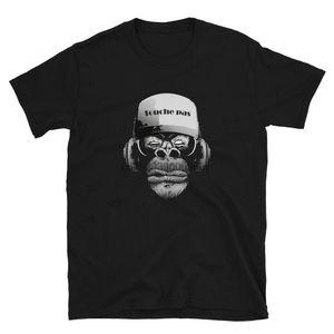 Affe DJ touche pas Sport T-Shirt Hoodie