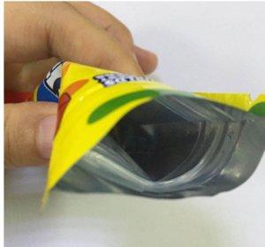 2020 Newr Egular Tasche Saure Gushers 500mg Mylar Tasche wiederveralable Trockenkräuterblume Geruchssicheres Tasche Verpackung BDGF