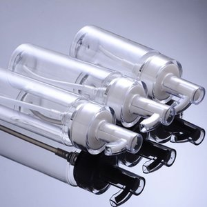 120ml 160ml 200ml Plastic cosmetic packaging PET lotion pump bottle high-end sub-bottling acrylic pump bottle hot sale CCA3095