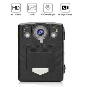 Mini cámaras Cámara soltera Cámara HD 1296P Video de seguridad IR Visión nocturna Construido en 32 GB DVR CAM Videocámaras portátiles