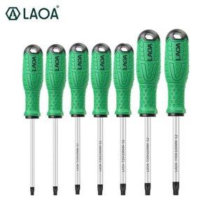 LAOA توركس مفك S2 سبائك الصلب المغناطيسي مفك T8 / T10 / T15 / T20 / T25 / T30 / T40