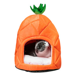 Hot sale Pet House Pineapple Cave Sleep Bed Cat Dog Tent Made of premium flannelette and cotton