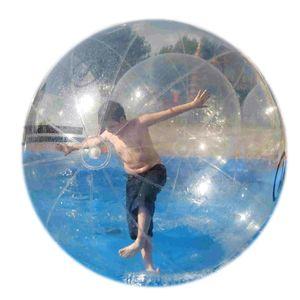 Free Shipping High Quality TPU Water Walking Ball Walker See Through Aqua Zorbing Sphere with German Tizip Zip Diameter 5' 7' 8' 10'