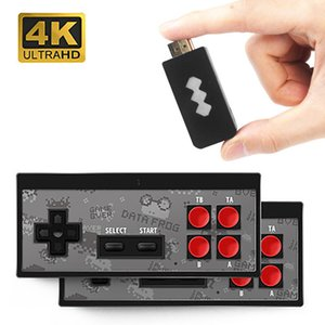 Built-In 568 Classic Games Projector mini Retro Console Wireless Controller HDMI Output Dual Gamepads