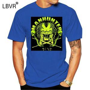 Manhunter yırtıcı tişört, yabancı, Jager, film, Kult, bilim kurgu, uzay, TV Yeni Moda Tişörtlü grafik mektup