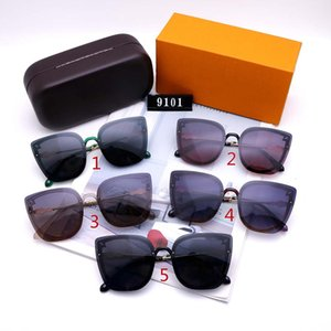 High Quality Brand Womans Sunglasses Brand New glasses L Mens Sun glasses Brand Designer Sunglasses Luxury glasses with Box L32 glitter2009
