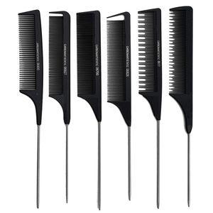 2020 Nouvelle version de Mettre en évidence Peigne Peign Peigneurs Coiffeurs Team Peigne Séparation séparée pour coiffure coiffure antistatique