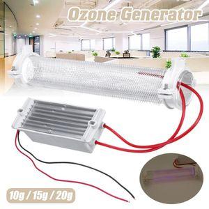 10G 15G 20G Silica Tube Ozone Generator Ozonizer for Air Purification Ac220v DIY Free Shipping