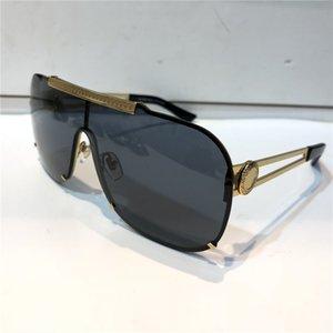 فاخر 2168 الإطار النظارات الشمسية للرجال تصميم الأزياء كاملة حماية UV400 UV عدسة Steampunk ساحة الصيف نمط Comw مع حزمة