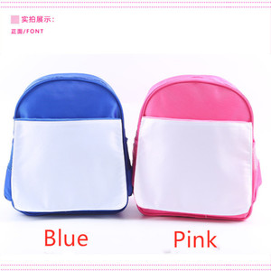 Free Shipping 4pcs lot New style Sublimation Blank Children's backpack item For Sublimation INK Print DIY Gifts34*28*10