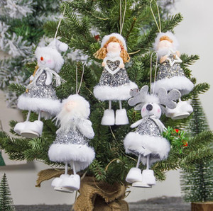 New Arrival Cute Girly Doll Christmas Tree Pendants Hanging Ornaments Gifts Xmas New Year Party Decor Home Decoration SN2217