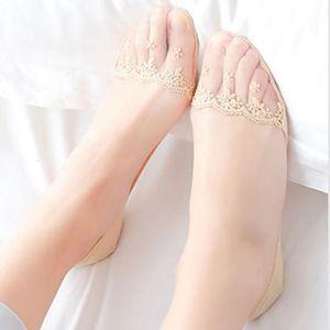 La Maxpa Новые прозрачные короткие кружевные носки женские летние пустоты носки лодки тапочки женские мягкие низкие невидимые PED K5201