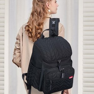 School Bags Maternity Nappy Baby Diaper Bag Multi Function Mummy Bags Travel Backpack with Changing Pad Drop Shipping