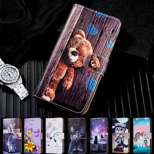 Leather Phone Case P Smart 2019 P8 P9 P10 P20 P30 Lite Wallet Flip Cover For Huawei Y3 Y5 Y6 Pro Y7 Y9