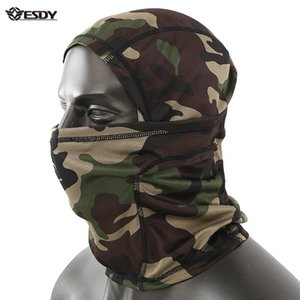 ESDY NEUER Outdoor Riding Headbearing Camouflage Square Y062