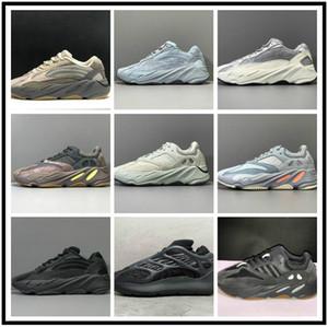 Jun V2 Kanye West 3M عاكس البرتقال العظام موجة عداء الرجال النساء الاحذية أحذية رياضية الصلبة رمادي التناظرية تيل الكربون الأزرق مصمم الأحذية