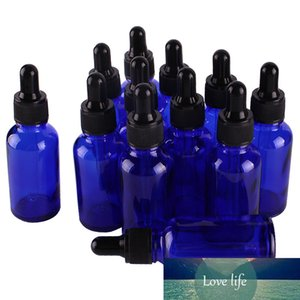 12pcs 30ml 1OZ Cobalt Blue Glass Dropper Bottles with Pipette for essential oils aromatherapy lab chemicals