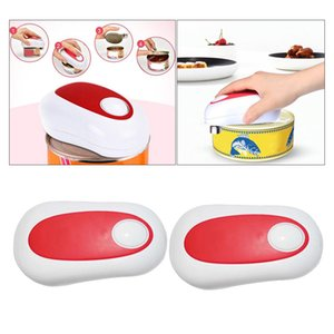 2x Kitchen Automatic Safety One Touch Electric Can Opener Easy To Open