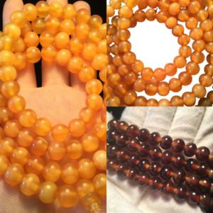 Umqml Tibetan Buddhism Olivary nucleus Women leather Handmade watch beaded bralet Beads Men 's Bracelets Beaded OM Healing Jewelry Lucky