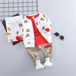 Hylkidhuose Enfant Enfant Vêtements Enfant Costumes Baby Garçons Girls Vêtements Ensembles Manteaux T-shirts Pantalons Enfants Enfants Casual Codiouse LJ200831