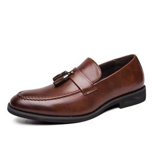 2020 Brock carved mens shoes classic men dress shoes Groom shoes men luxury loafers EUR size;38-46 447